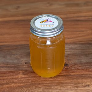 16 oz Mason Jar Local Honey