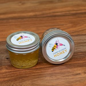 4oz Mini Jar Of Local Honey